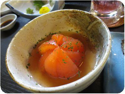丸ごとトマトダシひたし