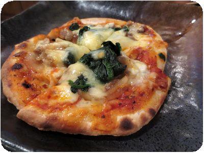 石窯焼ピザ