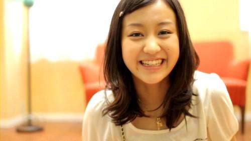 舞ちゃんキュートな笑顔