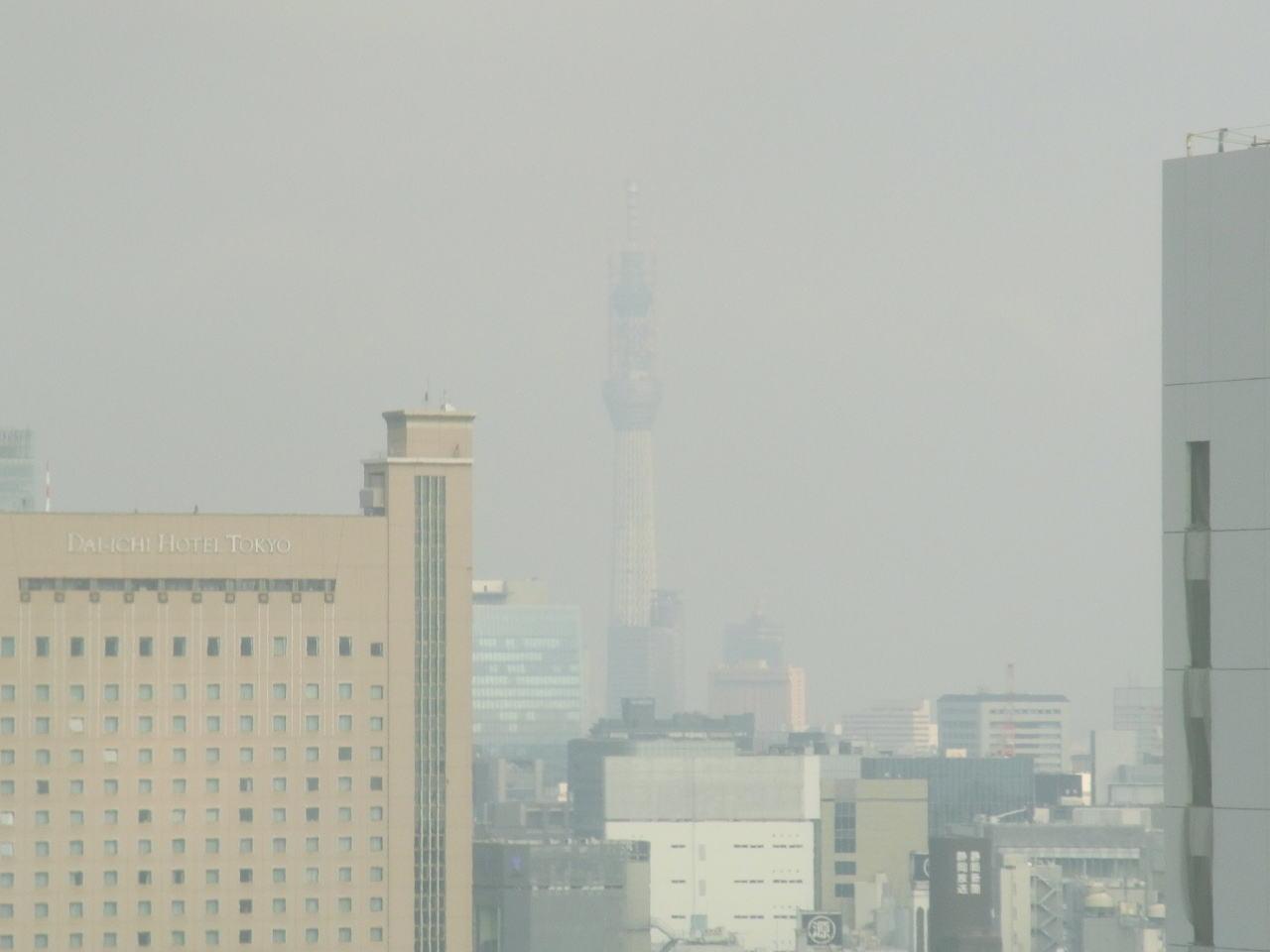 某高層ビルからのスカイツリー