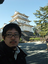 小田原城と一緒にパチリw