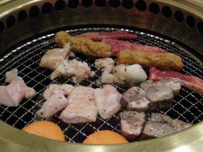 焼かれる肉