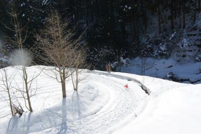 絶好調な雪山トレッキング3