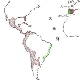 スペイン・ポルトガルの植民地