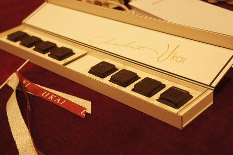 うかい亭・チョコレート