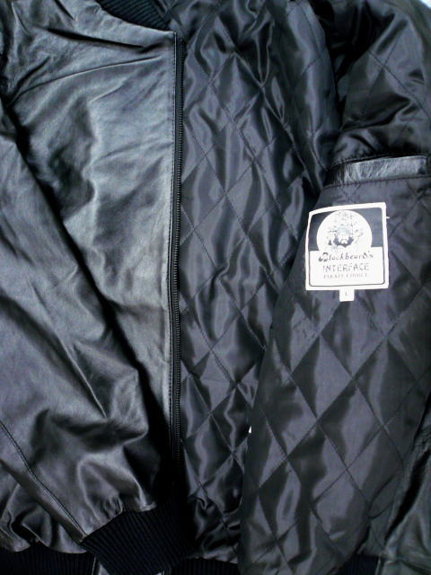 INTERFACE LEATHER JKT