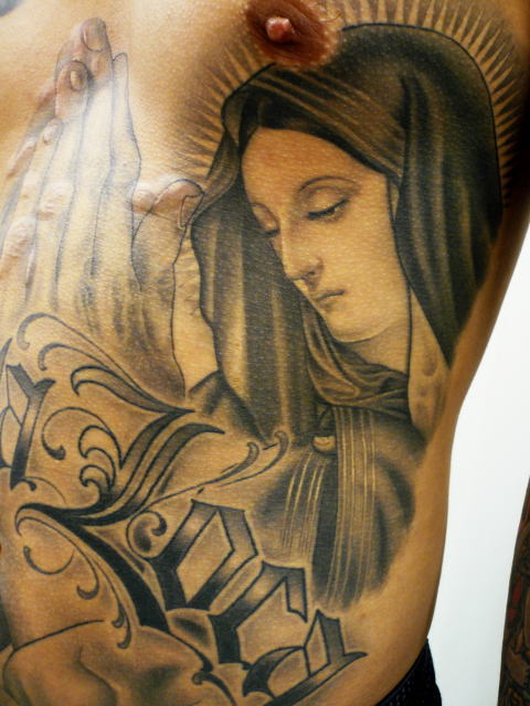 TATTOO KOBAYASHI BLACK&GRAY MARIA DAYOFTHEDEAD