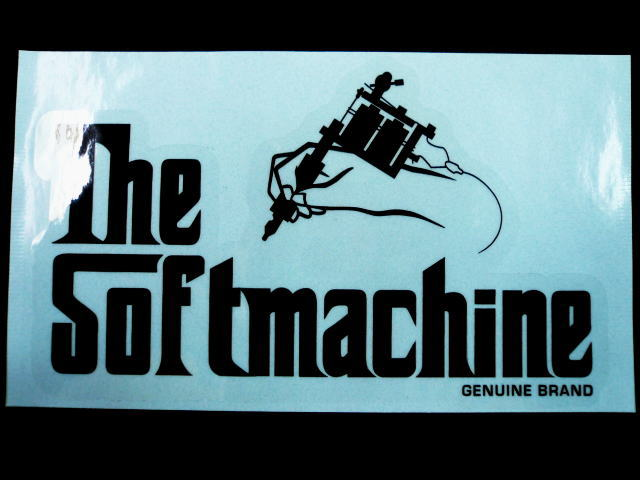 SOFTMACHINE GOD STICKER