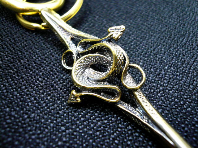 SOFTMACHINE SNAKE KEY CHAIN