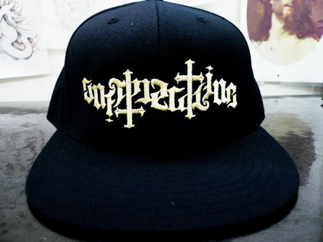 SOFTMACHINE AMBIGRAM TWILL CAP