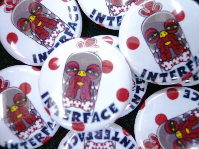 INTERFACE DOT OF COCK 缶バッチ