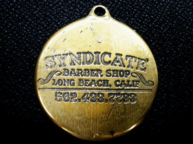 SYNDICATE METAL KEY HOLDER