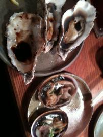 牡蠣と大アサリ
