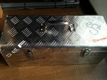 アルミ縞板工具箱
