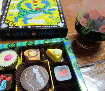 バレンタインで貰ったチョコと