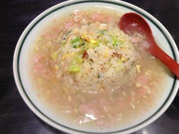 大阪王将カニあんかけチャーハン1