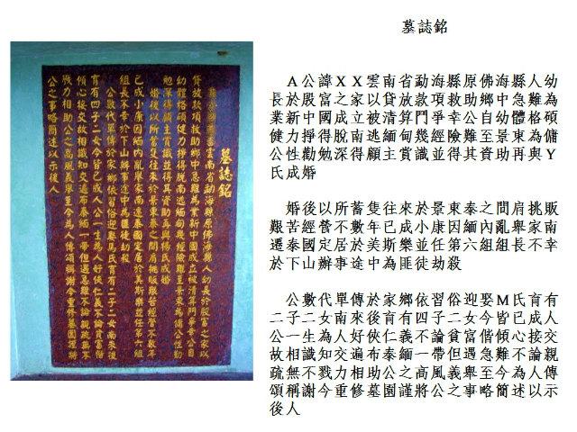 中国語作品で読む 黄金の三角地帯とタイ北部 メーサロンの墓誌sMaeSarongMuzhi001.jpg