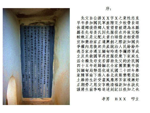 中国語作品で読む 黄金の三角地帯とタイ北部 墓誌の写真sMaeSarongMuzhi002.jpg