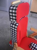 黒ギンガムのシート