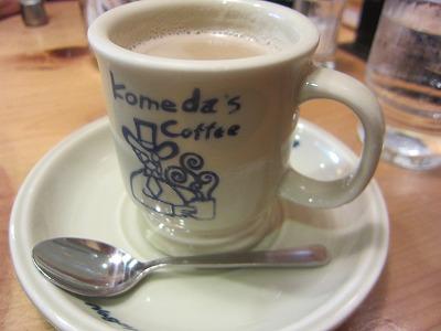 コメダ珈琲店 カフェオレ