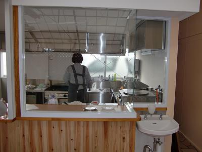 カフェ厨房