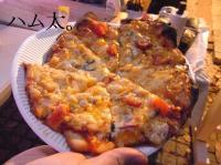 ハム太ピザ