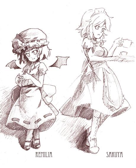 レミリア/咲夜