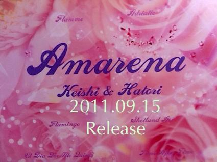 my album Amarena(Keishi and Hatori)