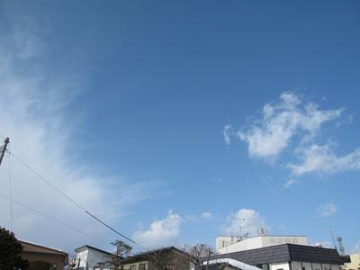 2月7日(月)の天気