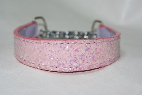 ピンクのラメスパンコール