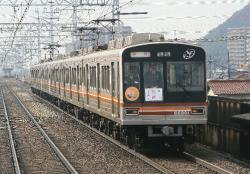 上牧~水無瀬間(2009.12.5)