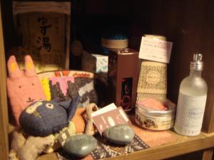 茶の湯 フェアトレード商品コーナー