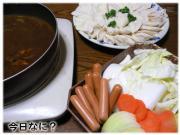 カレー鍋 1月14日の晩御飯