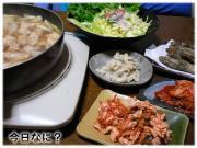 鶏鍋 1月19日の晩御飯