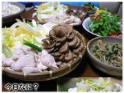 鶏すき 1月18日の晩御飯