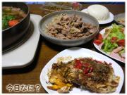 生姜焼きご飯 25日26日の晩御飯