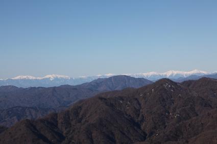 アルプス 塔ノ岳にて