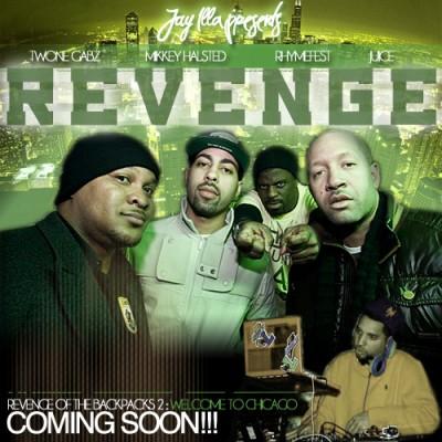 DJ Jay iLLa Ft. Mikkey Halsted, Rhymefest, Twone Gabz  Juice #8211; Revenge