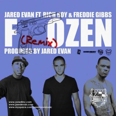 Jared Evan- Frozen (Remix) Ft. Freddie Gibbs  Rich Boy