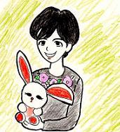 水谷玲子お姉さん・イラスト