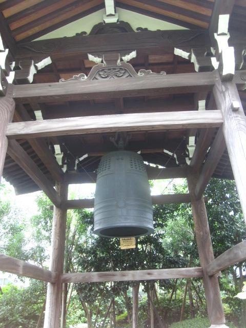 青松寺・鐘楼
