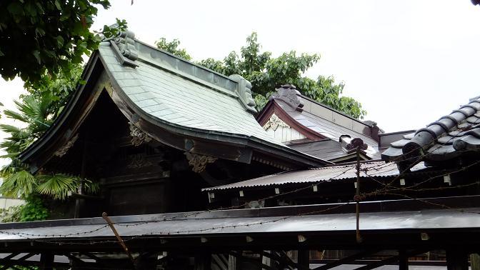 古河の八幡神社本殿