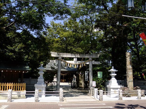 新田神社・大田区