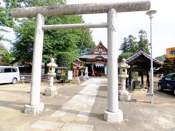太田の春日神社全容