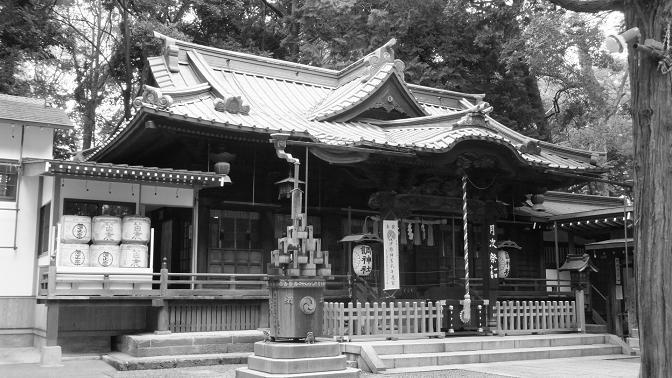 調神社拝殿