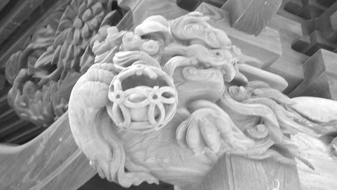 拝殿彫刻2