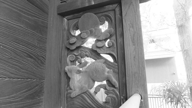 旧本殿の彫刻1