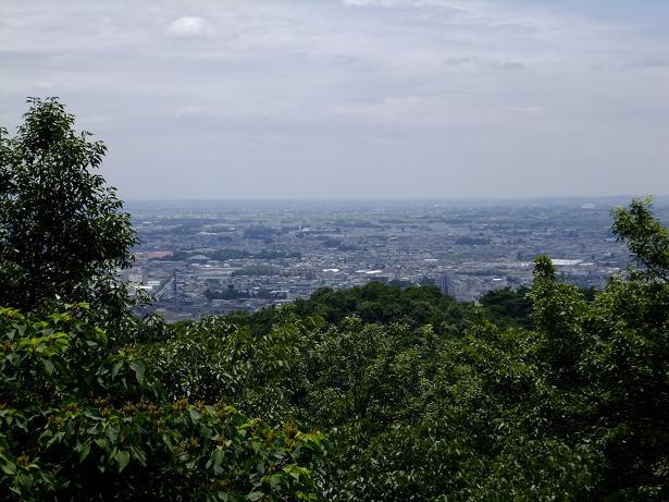 石垣からの眺望