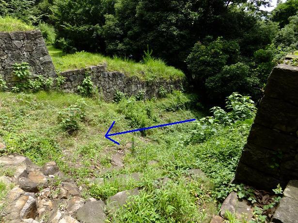 竪堀全体像