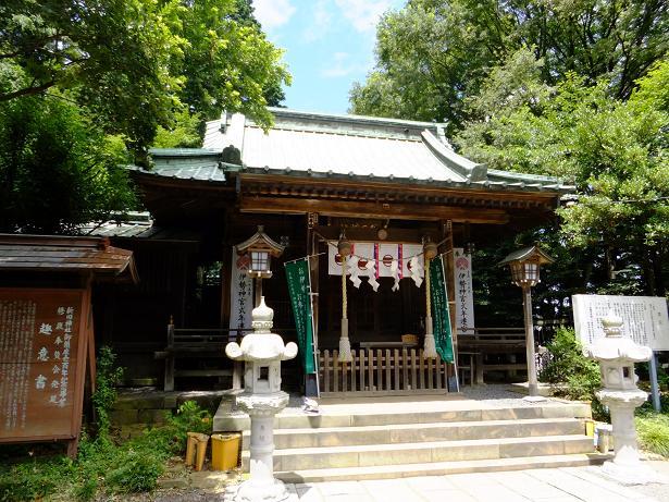 新田神社拝殿